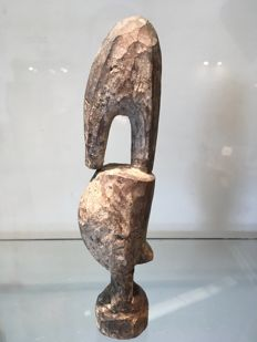 Very beautiful bird figurine - ADA - Ghana