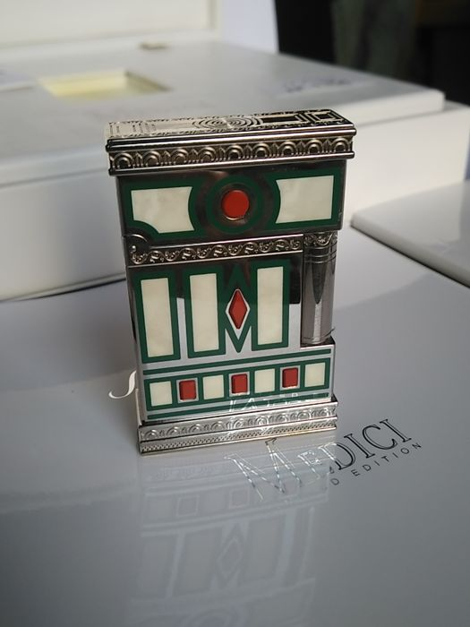 S.T Dupont lighter - MEDICI collection 2005 - Limited Edition of 2420 copies - New