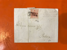 Historic States, Lombard Veneto, 1853-1864. Lot consisting of 5 envelopes