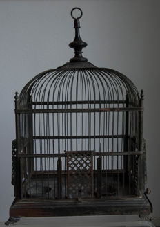 Bird cage, early 20th century