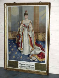 Portrait of Queen Alexandra, Empress of India