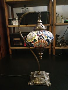 Turkish glass lamp