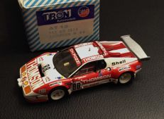 "TRON-AMR - Scale 1/43 - Ferrari 512BB Team Pozzi ""Thomson"" #88 Le Mans 1978 -- hand-made"