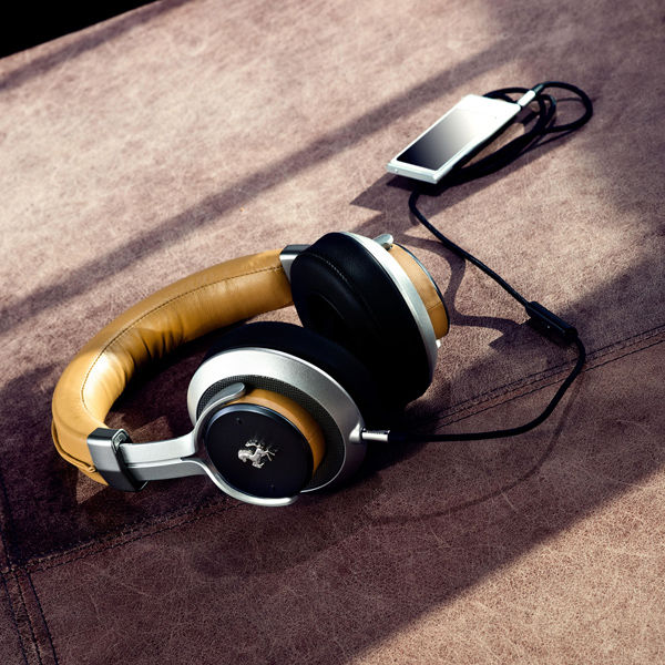 Ferrari - T 350 - Leather Headphones - Official Poduct - (Big Model) - Design - Comfort And Accessories