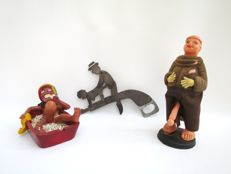 Decorative; Lot with 3 erotic items - 2nd half 20th century