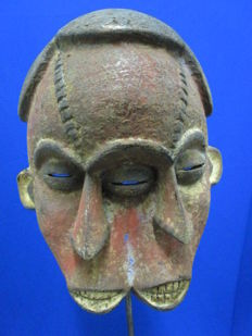 OGONI mask with three faces - Gabon