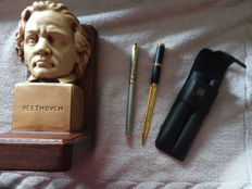 Fountain pen, letters opener and bookend Beethoven