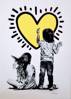 Alessio-B - Heart (Yellow)