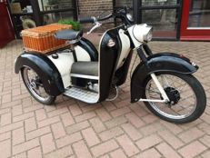 Monark - Tricycle Baker's moped - JLO Piano 50 cc - 1962