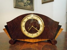 Art deco Junghans mantel clock