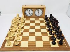 Professional chess with brand's signature