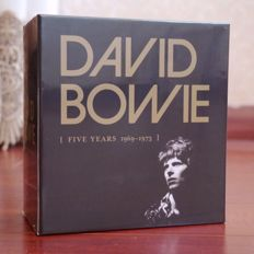 """David Bowie - """"Five Years 1969-1973"""" - 12 CD Box Set Collection Sealed"""