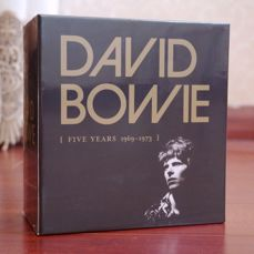 "David Bowie - ""Five Years 1969-1973"" - 12 CD Box Set Collection Sealed"