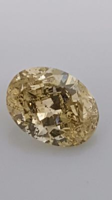 1.20 ct - Yellow - Oval - SI2