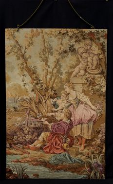 Tapestry depicting an allegorical rural scene - Veneto, Italy