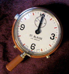St. Blaise Lic. Zenith  - 12 Minutes Telephone Timer Stopwatch - Unisex - 1960-1969