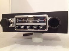 Blaupunkt Stuttgart classic car radio from 1967 - Porsche 911/912 and 356.