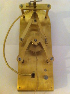 Stockanker escapement for teaching watchmaking