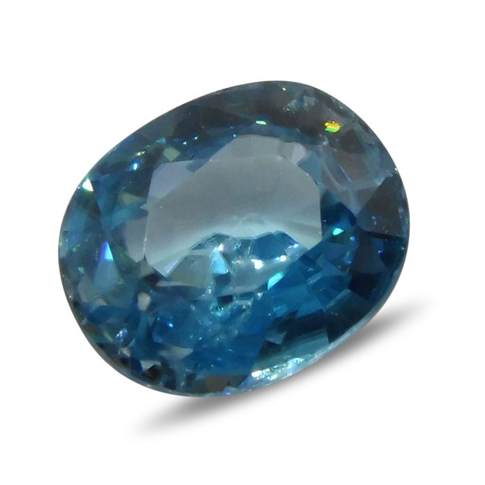 3.78 ct - Blue Zircon