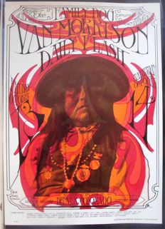 "Van Morrison Family Dog  Denver ""Prominent Apache"" by Mouse & Kelley 1967"