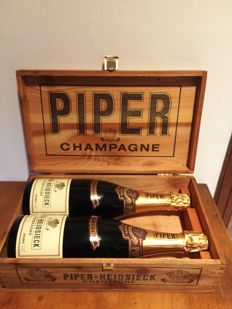 Champagne Piper-Heidsieck Brut Extra, Reims - 2 bottles (75cl) in original box