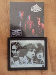 "Cream "" Fresh Cream "" 4 Disc CD & Blu ray deluxe box set & framed signed ( printed ) photo print."