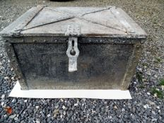 Heavy iron case - chest - first half 20th century