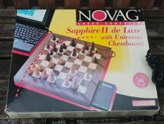 Novag Sapphire II Electronic Chess Computer