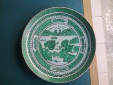 3 porcelain plates from China for the Americas