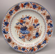 Porcelain Imari plate - China - midst 18th century