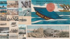 MILITARY - Military navy, ships - Lot of 27 postcards