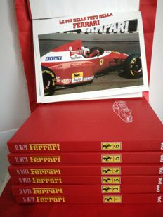 Complete collection 'Il Mito Ferrari' with attachment 'Le Piu' Belle Foto Della Ferrari'