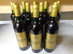 1996 Chateau Bellevue, Médoc Cru Bourgeois, Lassalle Yves - 12 bottles in total
