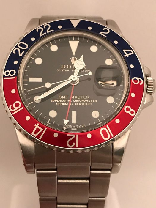 Rolex - Oyster Perpetual GMT Master - 1675 - Heren - 1966