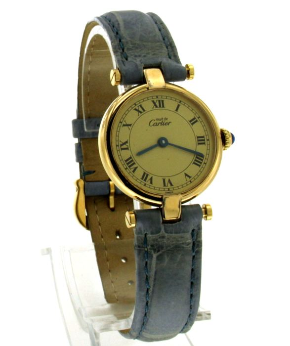 Cartier - Must de vermeill ronde - 1851 - Women - 1990-1999