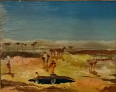 Unknown artist - Oasi nel deserto