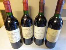 2x 1995 Chateau De Sales, Pomerol & 2x 1996 Chateau De Conques, Cru Bourgeois Medoc - 4 bottles in total