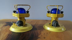 Unknown designer - original military runway lighting Airport - two lamps