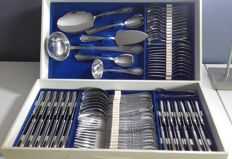 Cutlery box LOUIS XV POLIDA MASSIF 79-piece Solingen