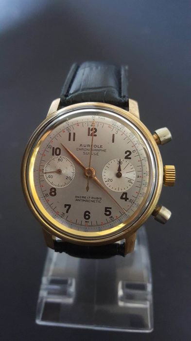 Vintage Aureole Watch Aureole Mens Watch by ...