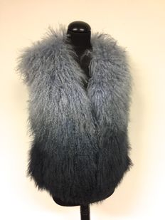 Michael Kors - Mongolian Lamb Fur Vest - Ombre Look – like new
