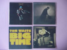 Tom Waits  – Mule Variations – Closing Time – Franks Wild Years – Big Time – 4 original albums