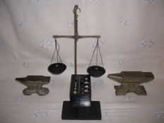 Vintage Jewelry Scales + Jewelry Anvils