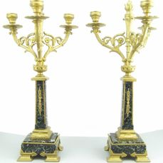 A pair of Napoleon III candelabra - France - 19th century
