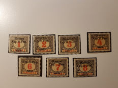 Latvia, Poland, Russia and Ukraine 1910/1945 - Batch of stamps