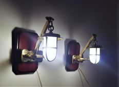 Antique boat lights - Schiffslampe