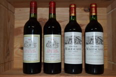 2x 1975 Chateau Peyrabon, Haut-Medoc & 2x 1983 Chateau Malescasse, Haut-Medoc - total of 4 bottles