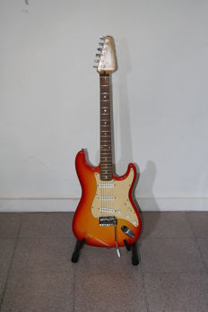 Johnson strat style guitar