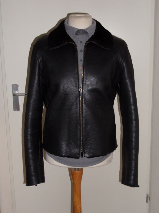 Emporio Armani - Shearling Bomber Jacket - Catawiki d9dad6a29d