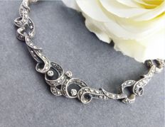 925er Sterlingsilber - Art Deco-Collier
